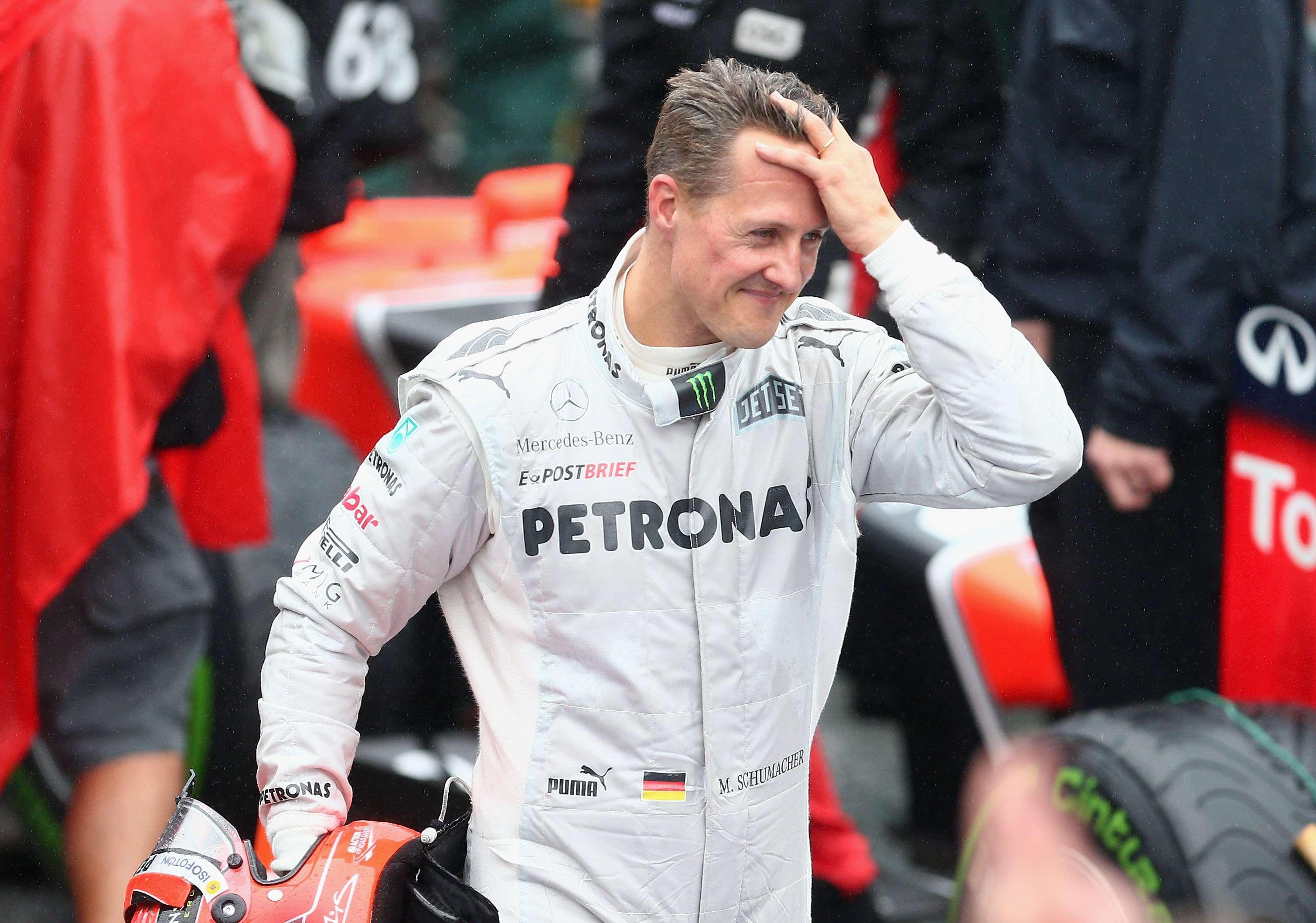 El piloto alemán Michael Schumacher fue heptacampeón de la Fórmula 1 Foto: Gettyimages
