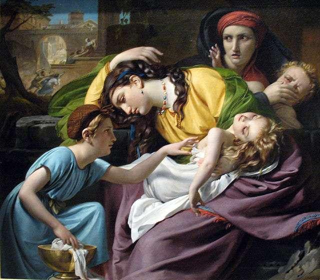 The massacre of the innocents, de François-Joseph Navez, 1824 Foto: Wikipedia