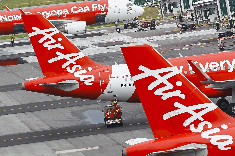 Aviones de AirAsia. Foto: EFE en español