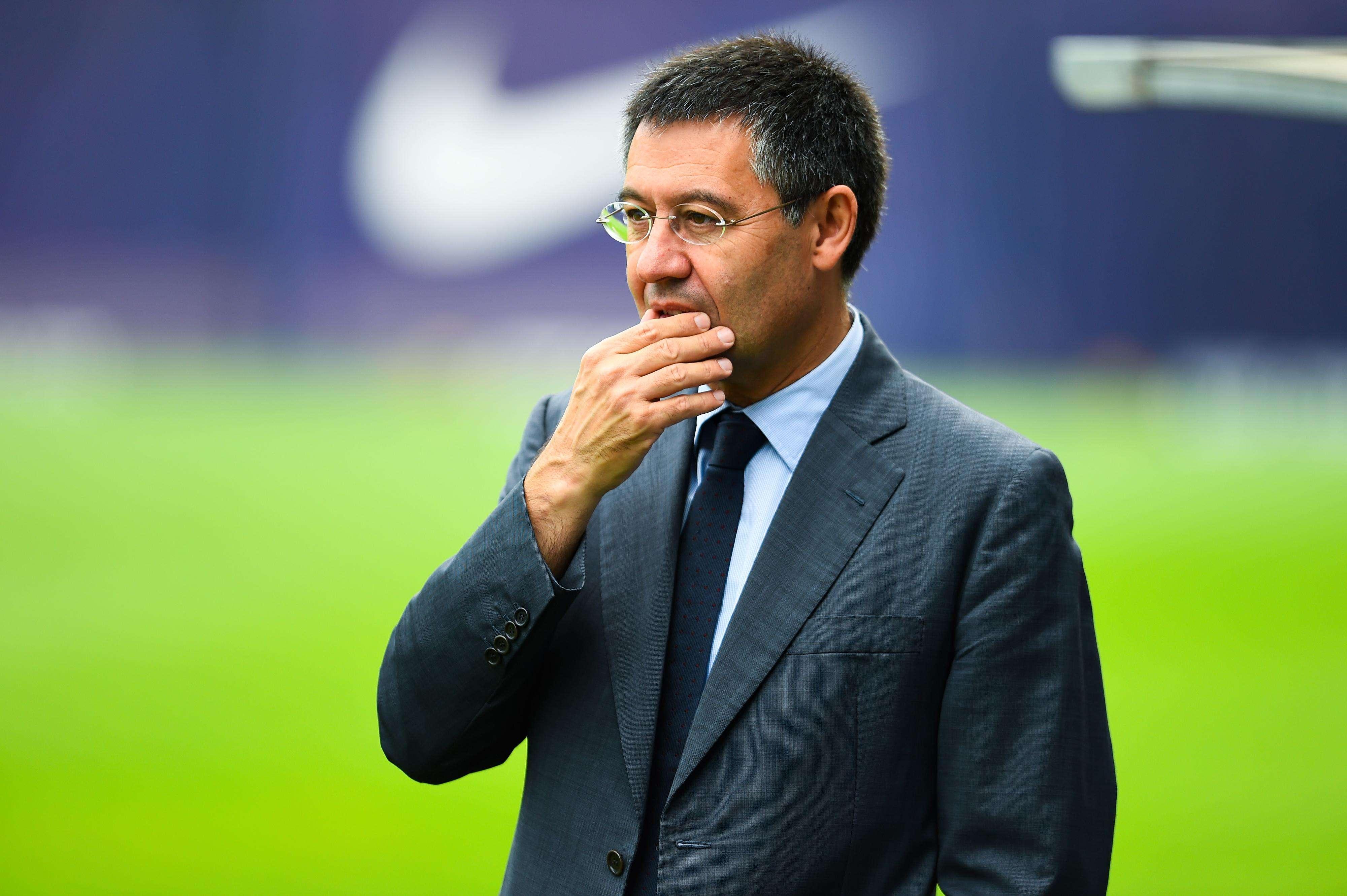 El presidente del FC Barcelona, Josep María Bartomeu. Foto: Getty Images