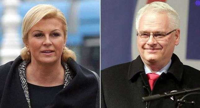 El presidente incumbente Ivo Josipovic tiene el 38% de los sufragios, y su rival, la conservadora Kolinda Grabar-Kitarovic, el 37%. Foto: AFP en español