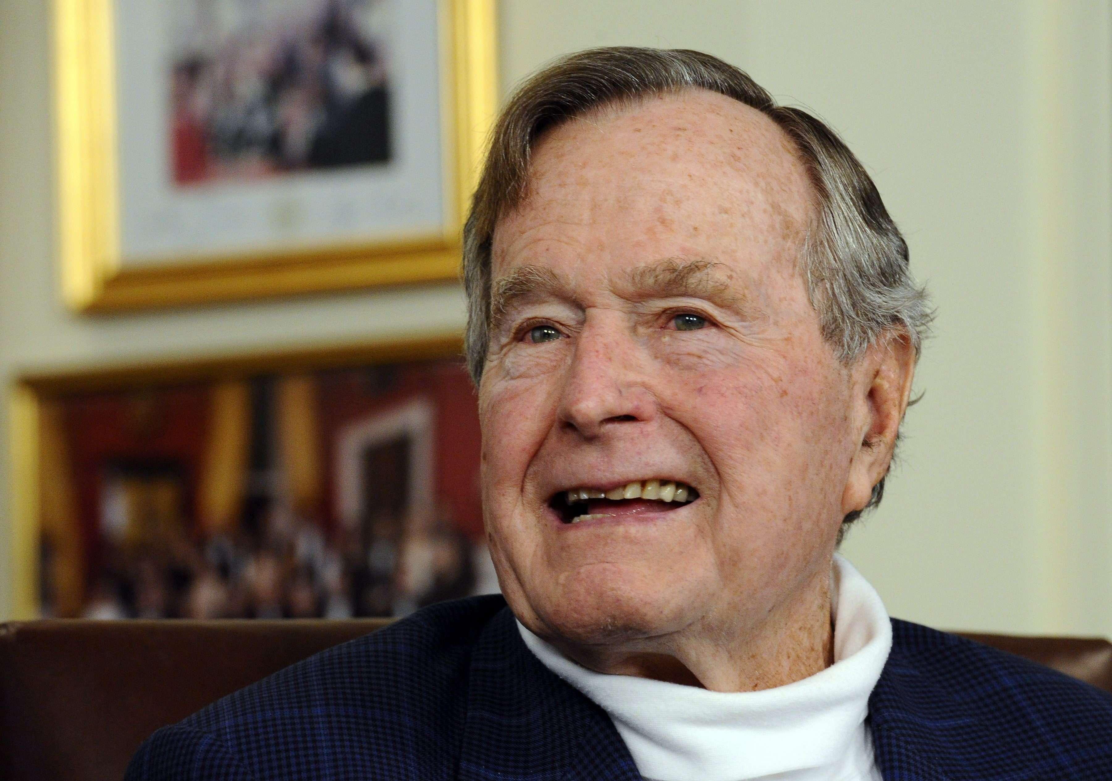 El expresidente estadounidense George H.W. Bush. Foto: EFE / Archivo