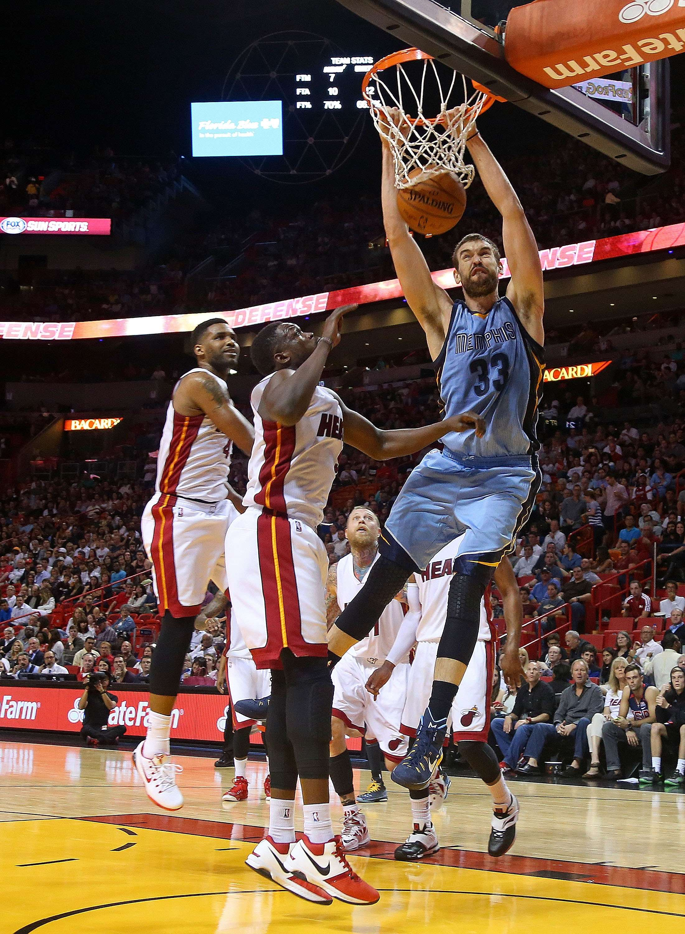 Gasol anotó 22 puntos. Foto: Getty Images