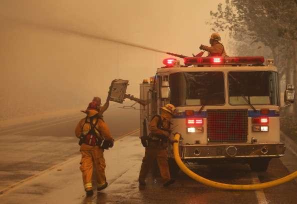 Añadió que la última vez que el área vivió un incendio de esta magnitud fue en 2008 en la Universidad Our Lady of the Lake, en esa ocasión nadie resultó herido. Foto: Getty Images