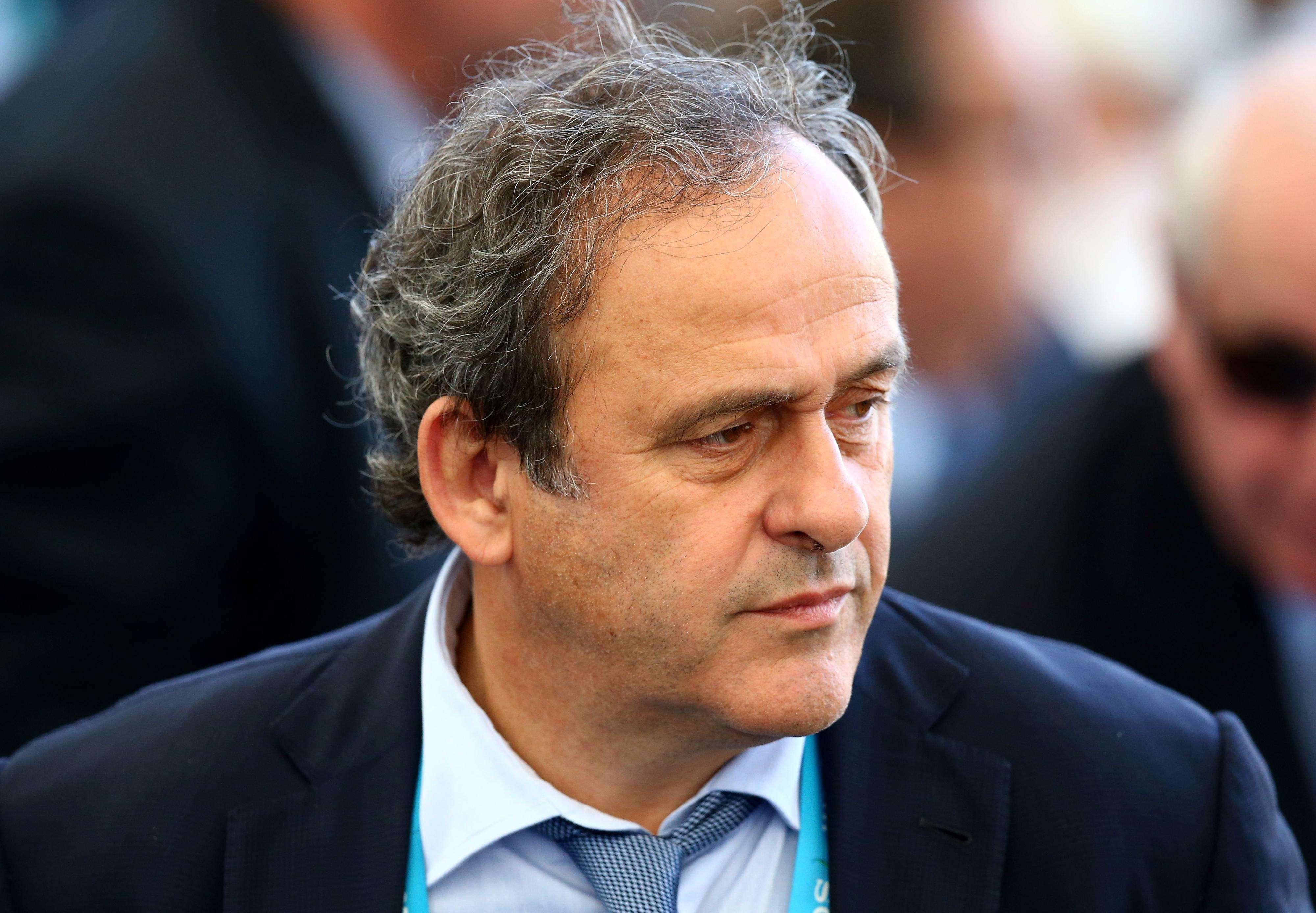 Michel Platini, presidente de la UEFA. Foto: Getty Images