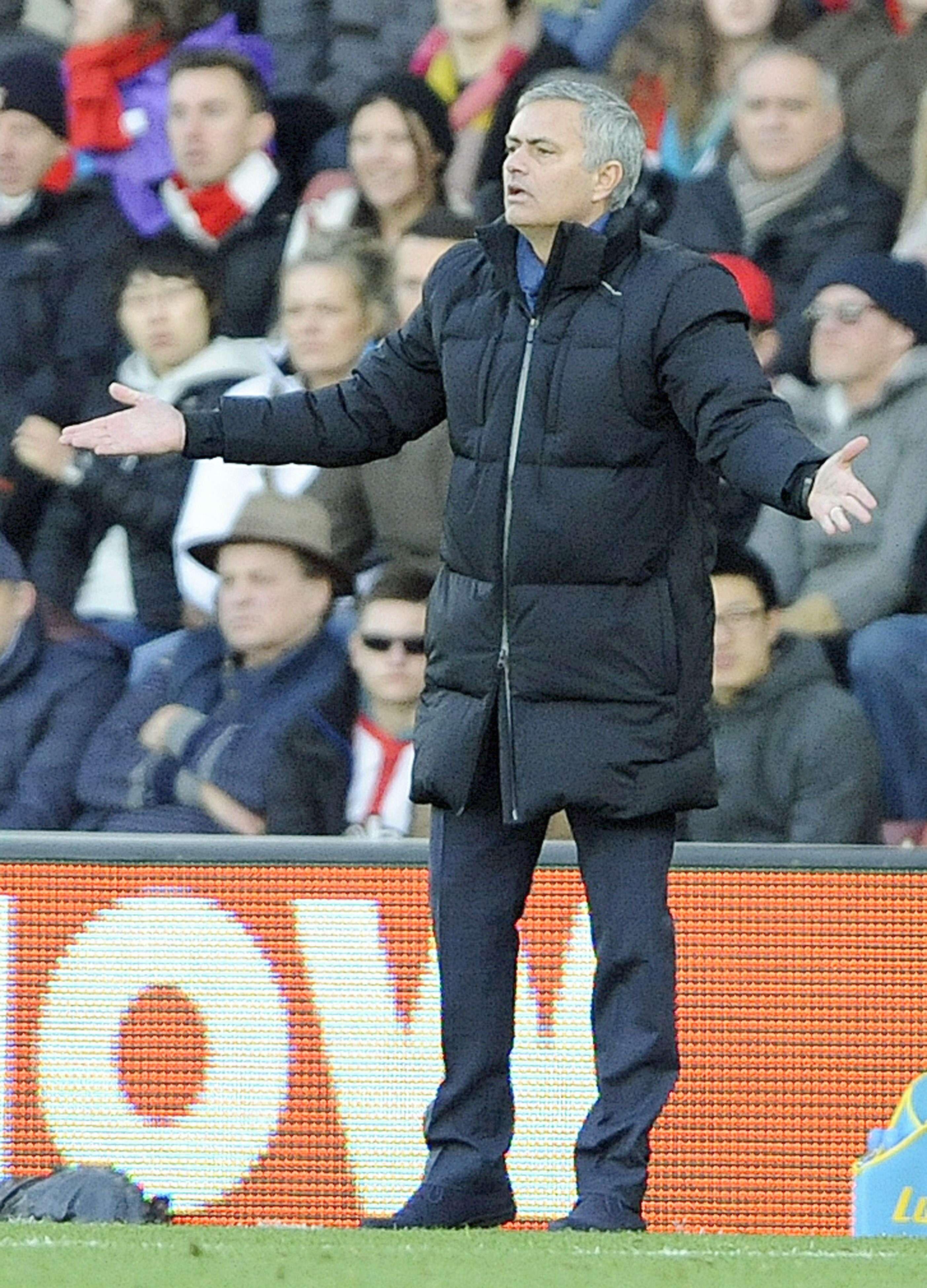 Jose Mourinho, entrenador del Chelsea. Foto: EFE en español