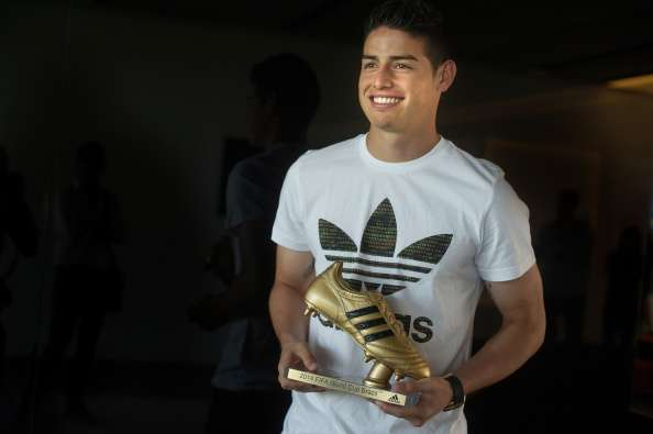 James Rodríguez Foto: Getty Images