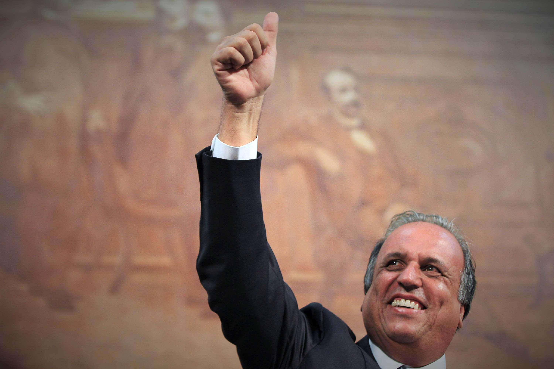 O governador Luiz Fernando Pezão tomou posse na manhã desta quinta-feira, na Assembleia Legislativa do Estado do Rio de Janeiro (Alerj), na capital carioca Foto: Ale Silva/Futura Press