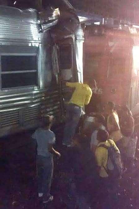 Mais de 200 pessoas ficaram feridas no acidente Foto: João Vítor Silva/vc repórter