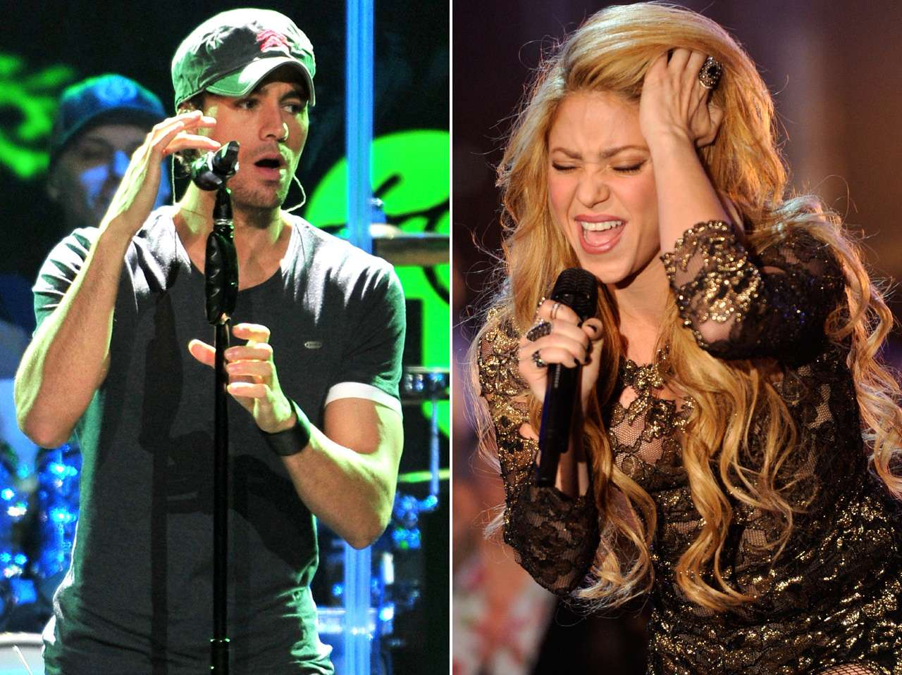 shakira enrique iglesias Foto: Getty Images