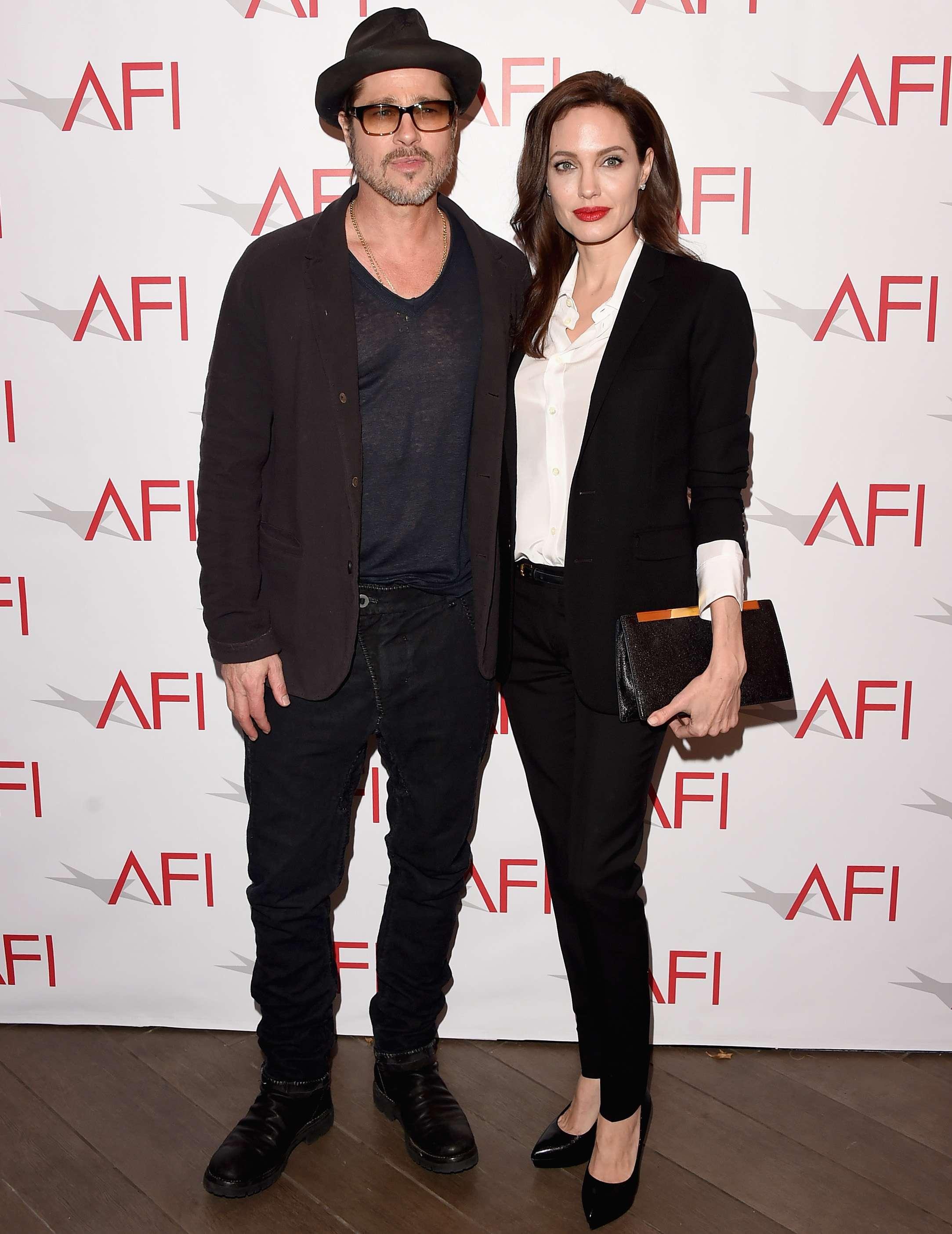 Angelina Jolie y Brad Pitt se casaron en Francia el pasado 23 de agosto de 2014. Foto: Getty Images