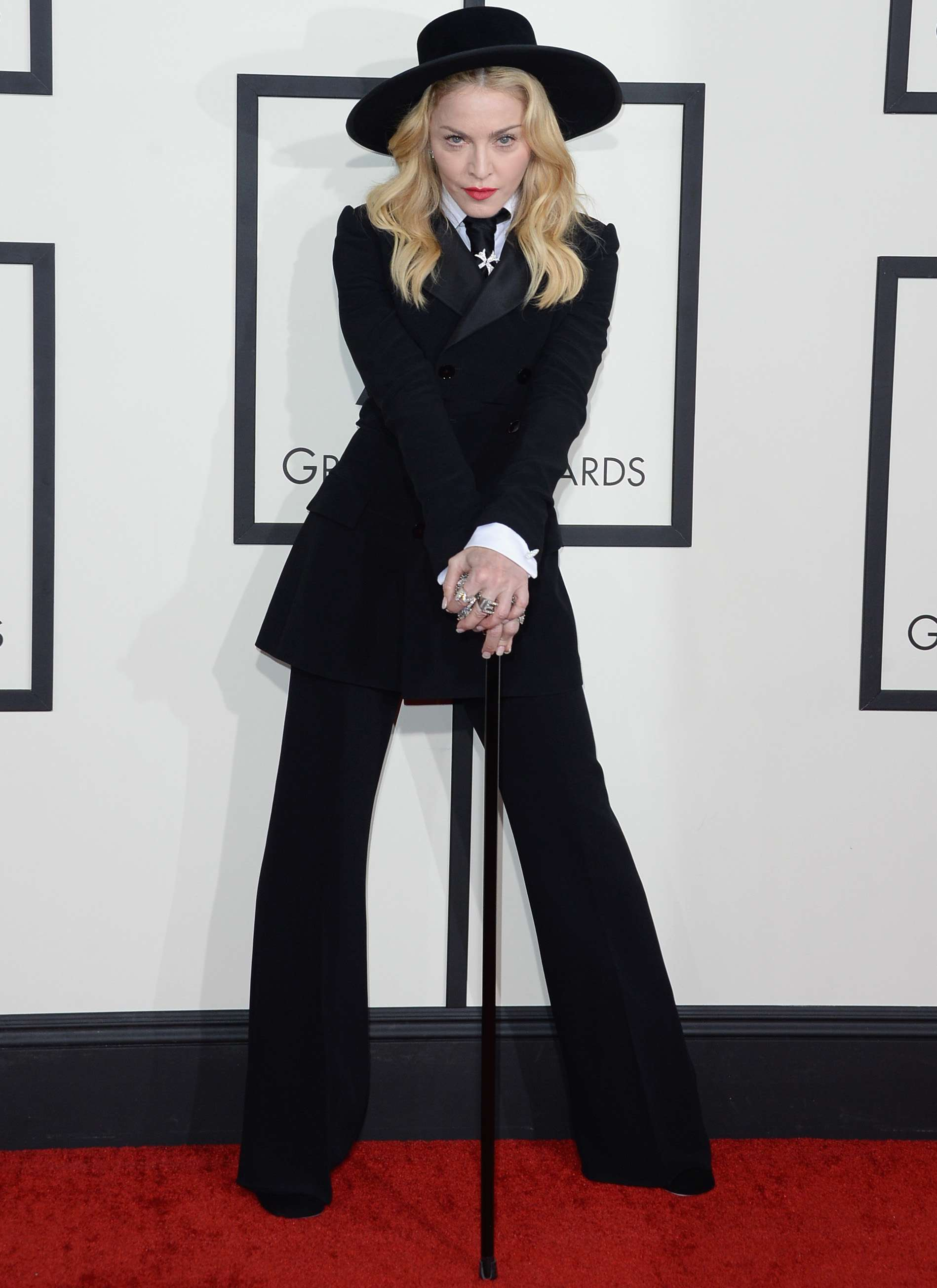 Madonna cantará 'Living For Love' en la próxima entrega de los Grammy. Foto: Getty Images