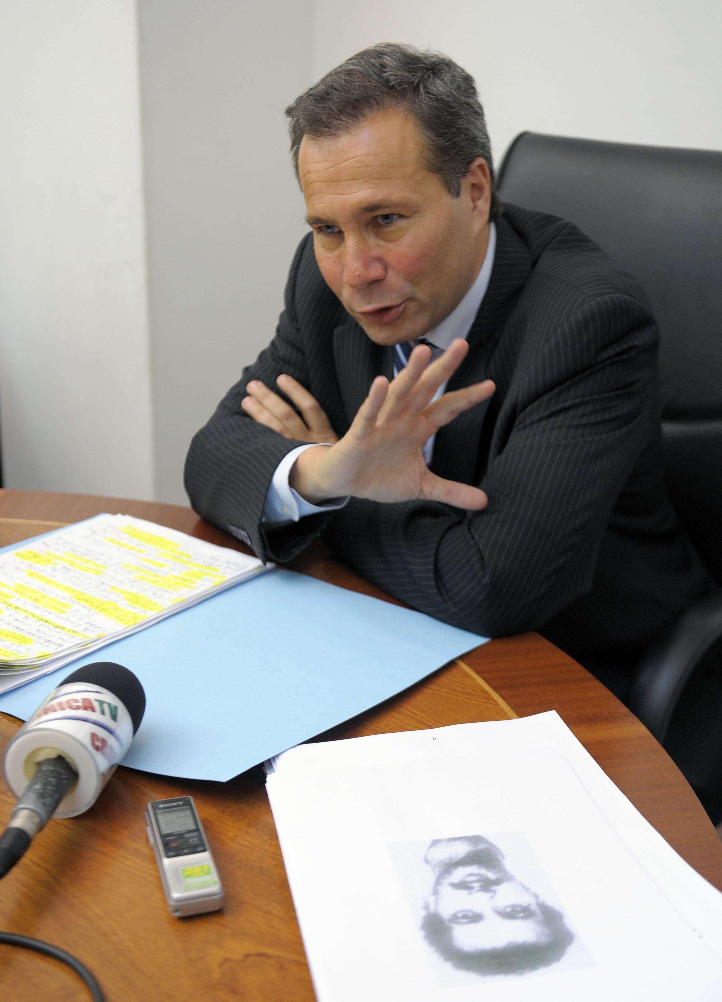 El fiscal Nisman. Foto: NA