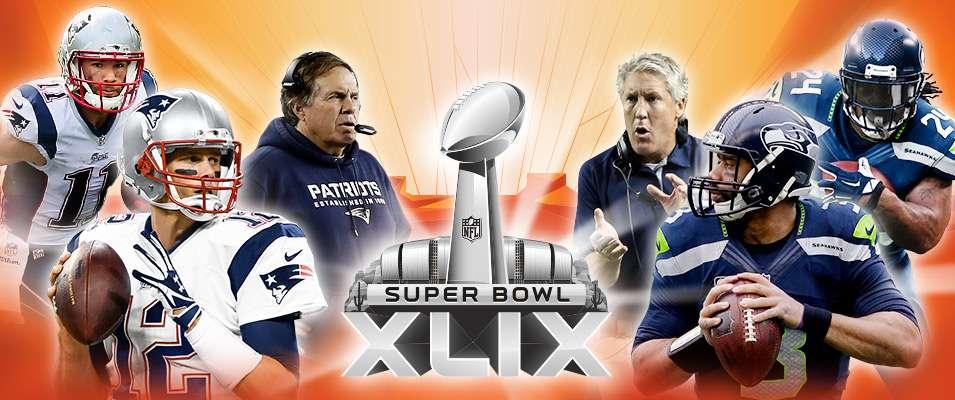 Super Bowl XLIX: Patriots vs. Seahawks. Foto: Tomada de nfl.com