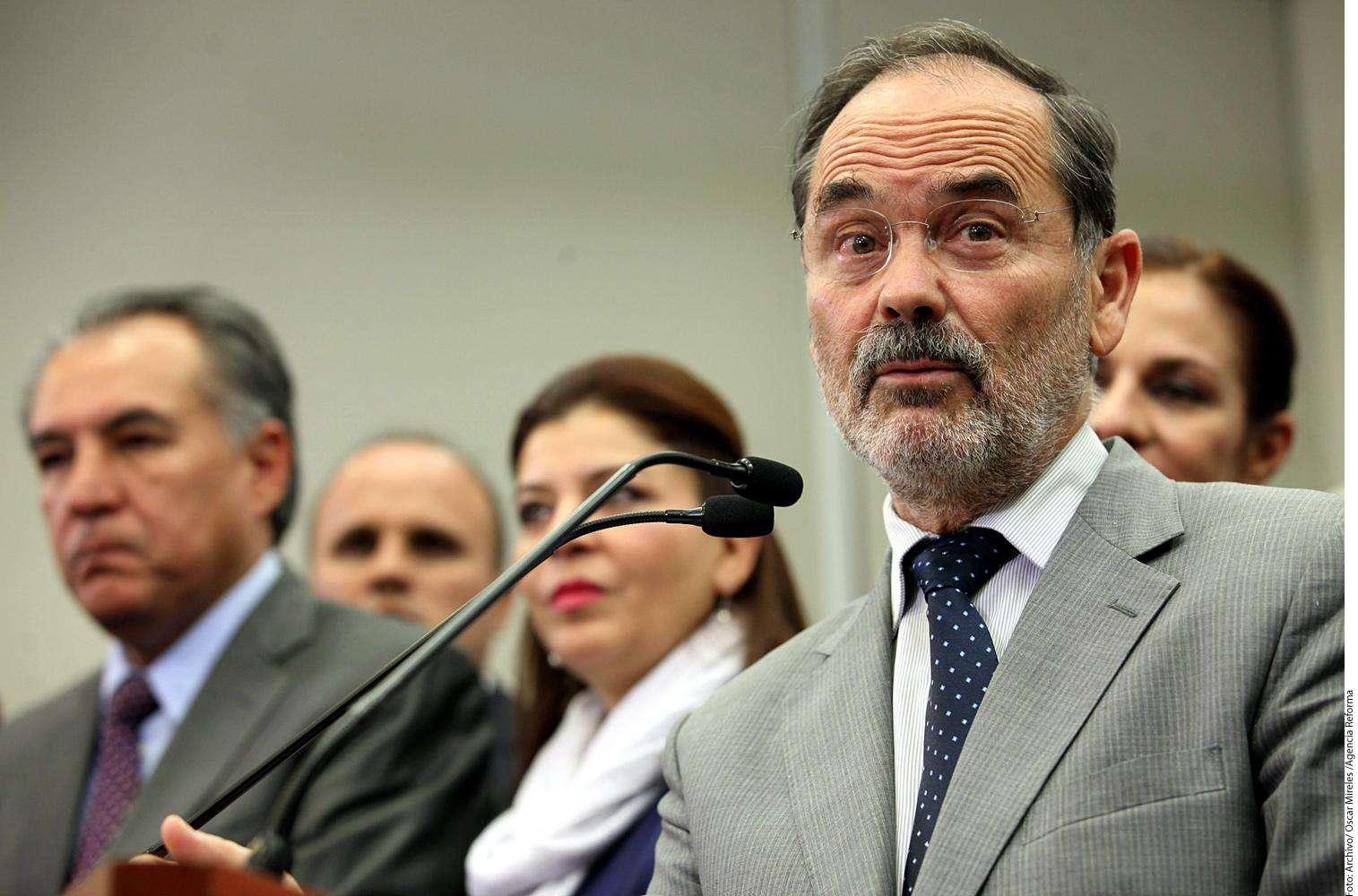Gustavo Madero Foto: Agencia Reforma