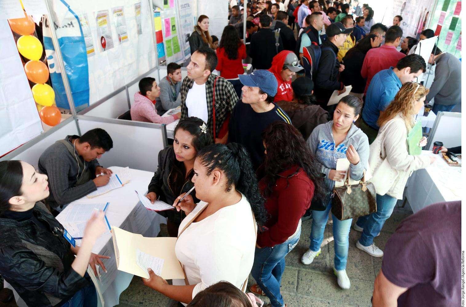 Feria del empleo Foto: Agencia Reforma