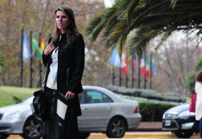 La exmujer del fiscal argentino Alberto Nisman, Sandra Arroyo Salgado. Foto: Twitter @gustsaldana