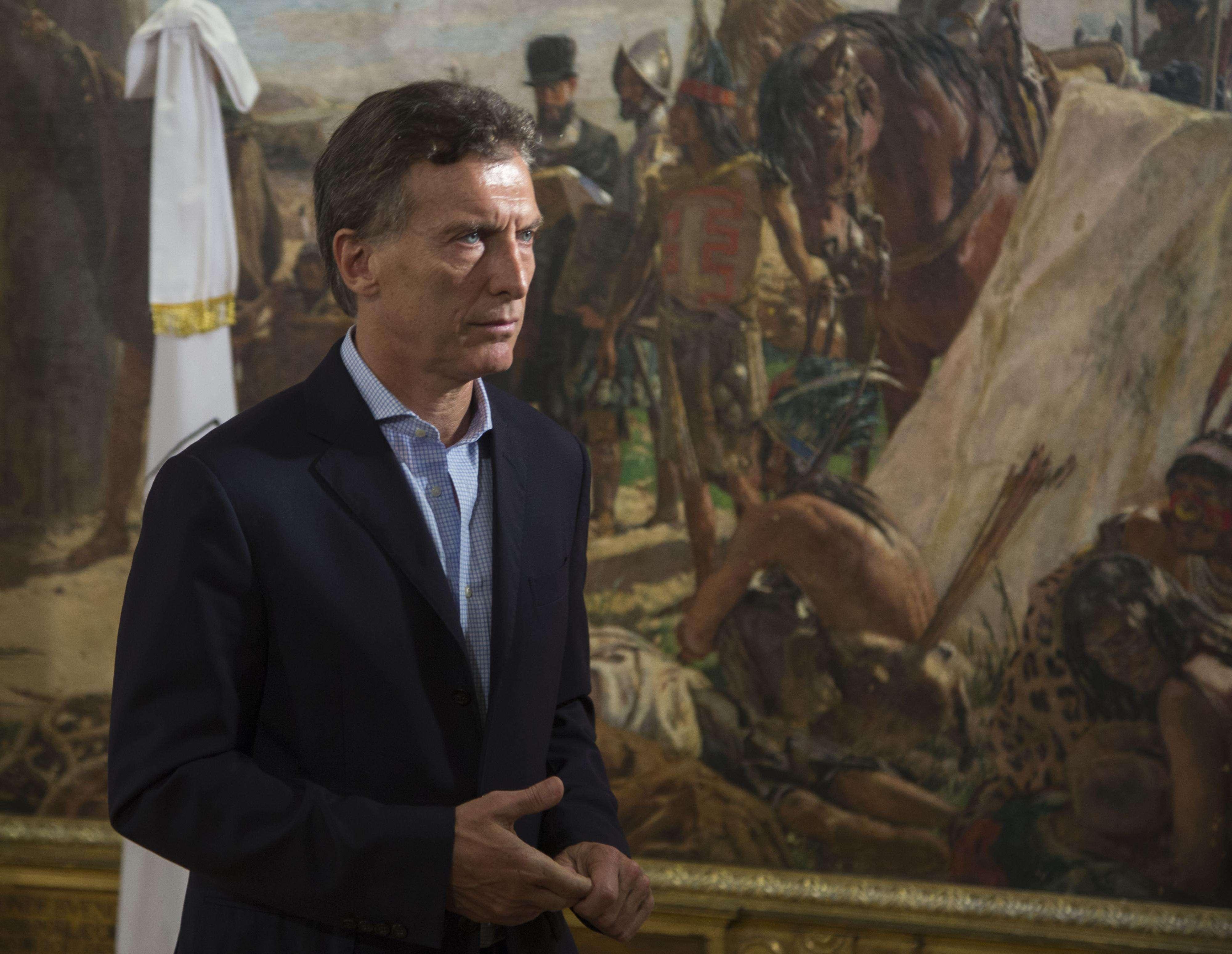 Mauricio Macri, líder del PRO. Foto: NA