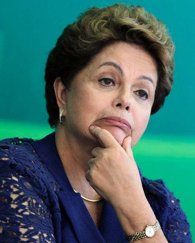 Presidente Dilma Rousseff durante café da manhã com jornalistas no Palácio do Planalto. 22/12/2014. Foto: Joedson Alves/Reuters