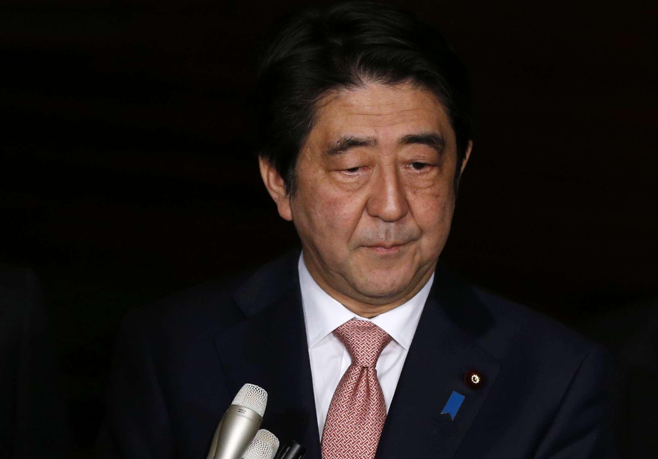Dois japoneses são mantidos reféns pelo grupo Estado Islâmico e o premiê japonês pede ajuda aos líderes do Oriente Médio Foto: Toru Hanai/Reuters