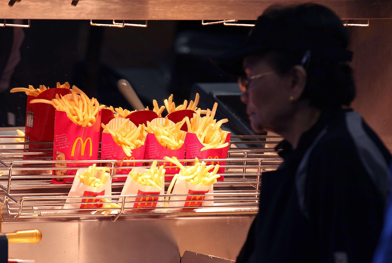 Las papas fritas son uno de los productos más vendidos por McDonald's. Foto: Getty Images