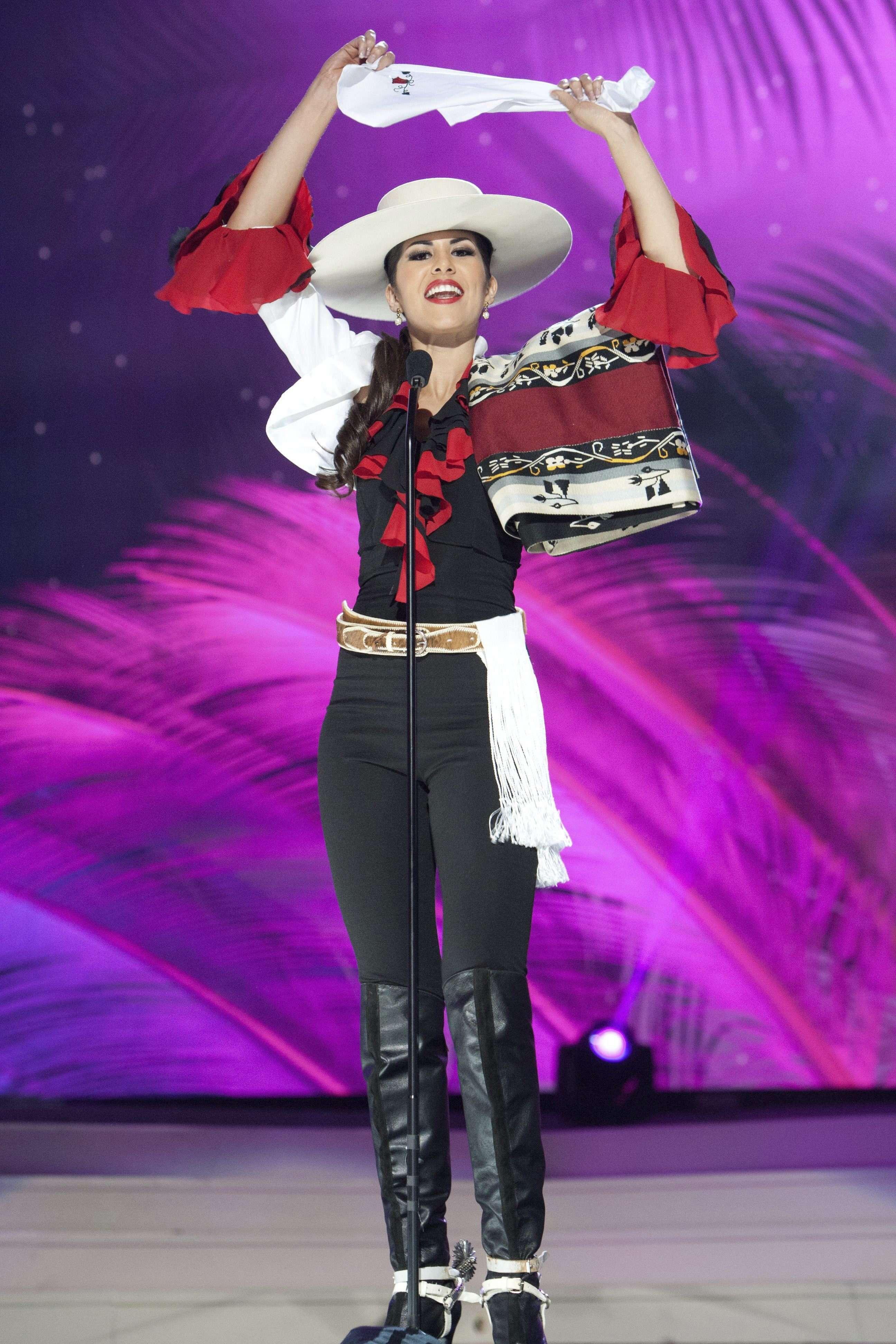 Hellen Marlene Toncio, Miss Chile 2014 Foto: EFE