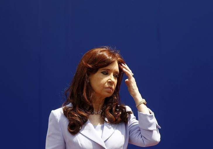 Presidente argentina, Cristina Kirchner, em foto de arquivo. 17/12/2014 Foto: Enrique Marcarian/Reuters