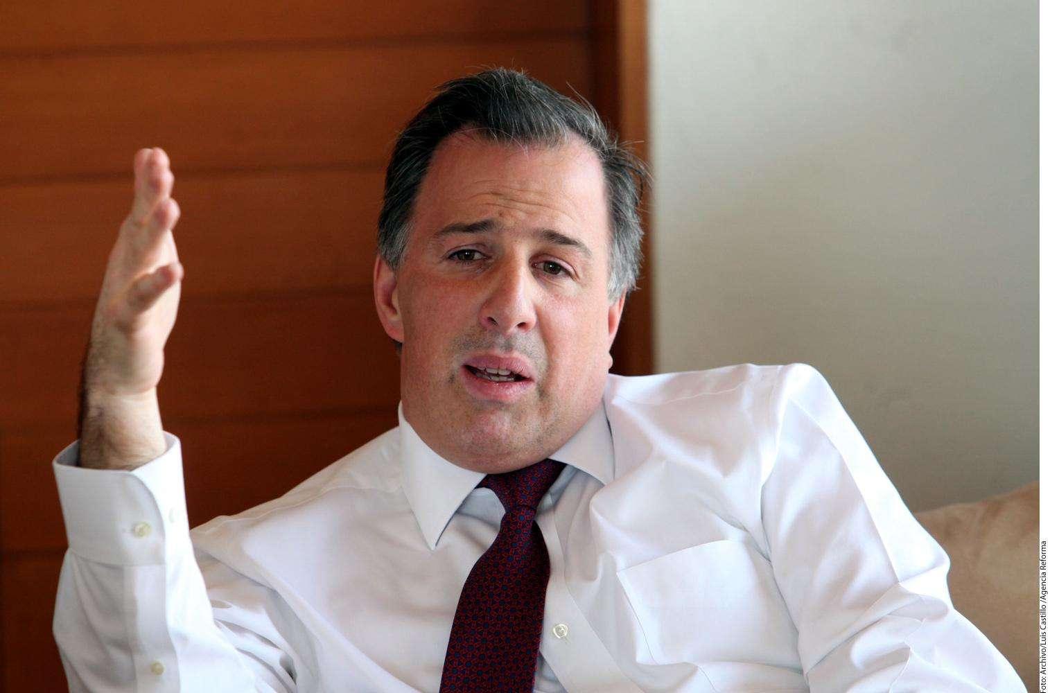 José Antonio Meade Foto: Agencia Reforma