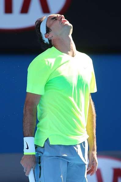 El italiano Andreas Sappi dio la gran sorpresa en el Abierto de Australia, derrotando al suizo Roger Federer en cuatro sets 6-4, 7-6 (5), 4-6 y 7-6 (5). Foto: Getty Images