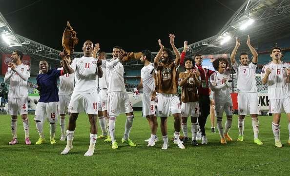 Luego de un empate (1-1) en tiempo regular, los EAU vencieron 5-4 a Japón en penales para avanzar a las Semifinales de la Copa de Asia. Foto: Getty Images