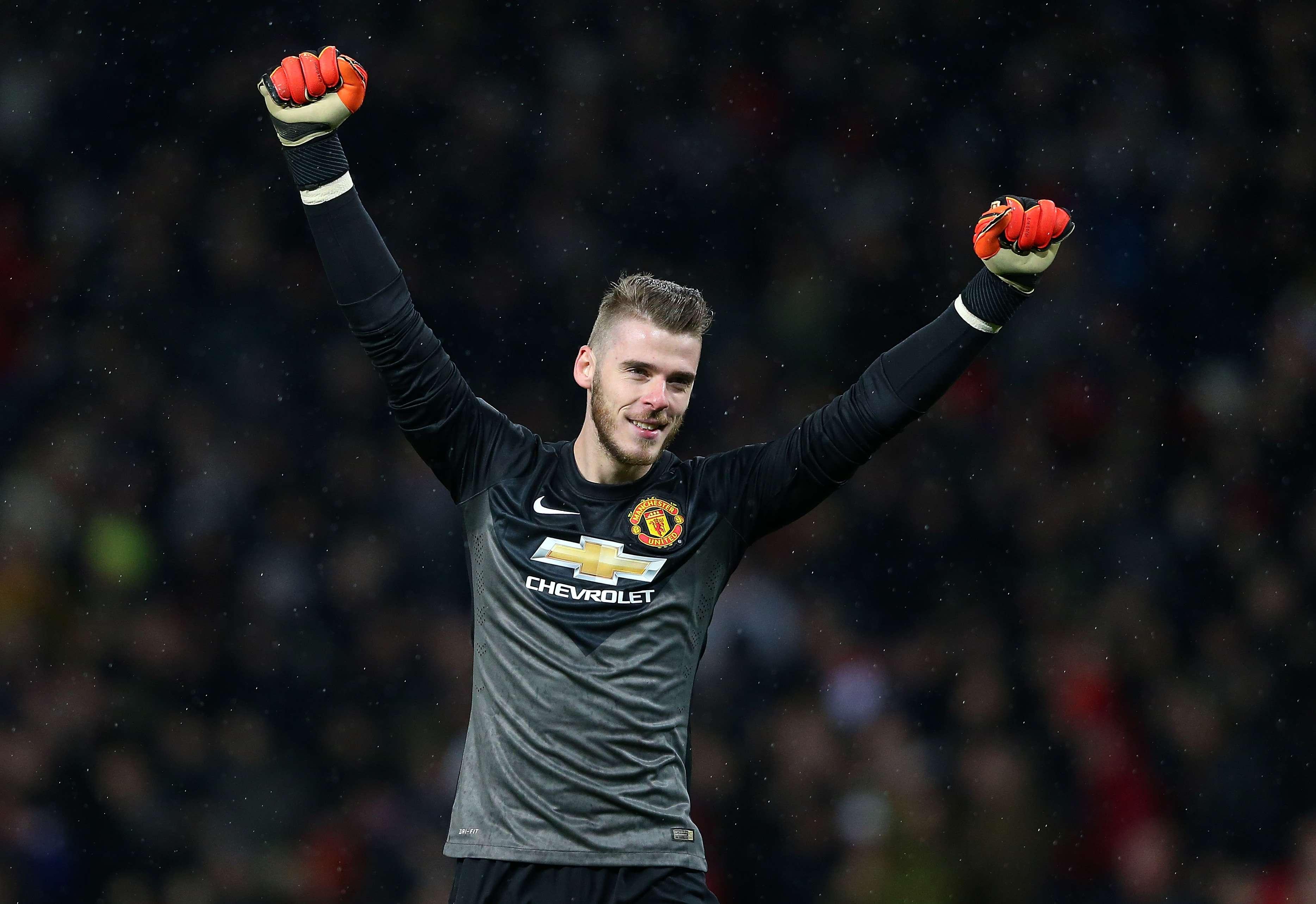 De Gea, portero del Manchester United pero pretendido por el Real Madrid. Foto: Getty Images