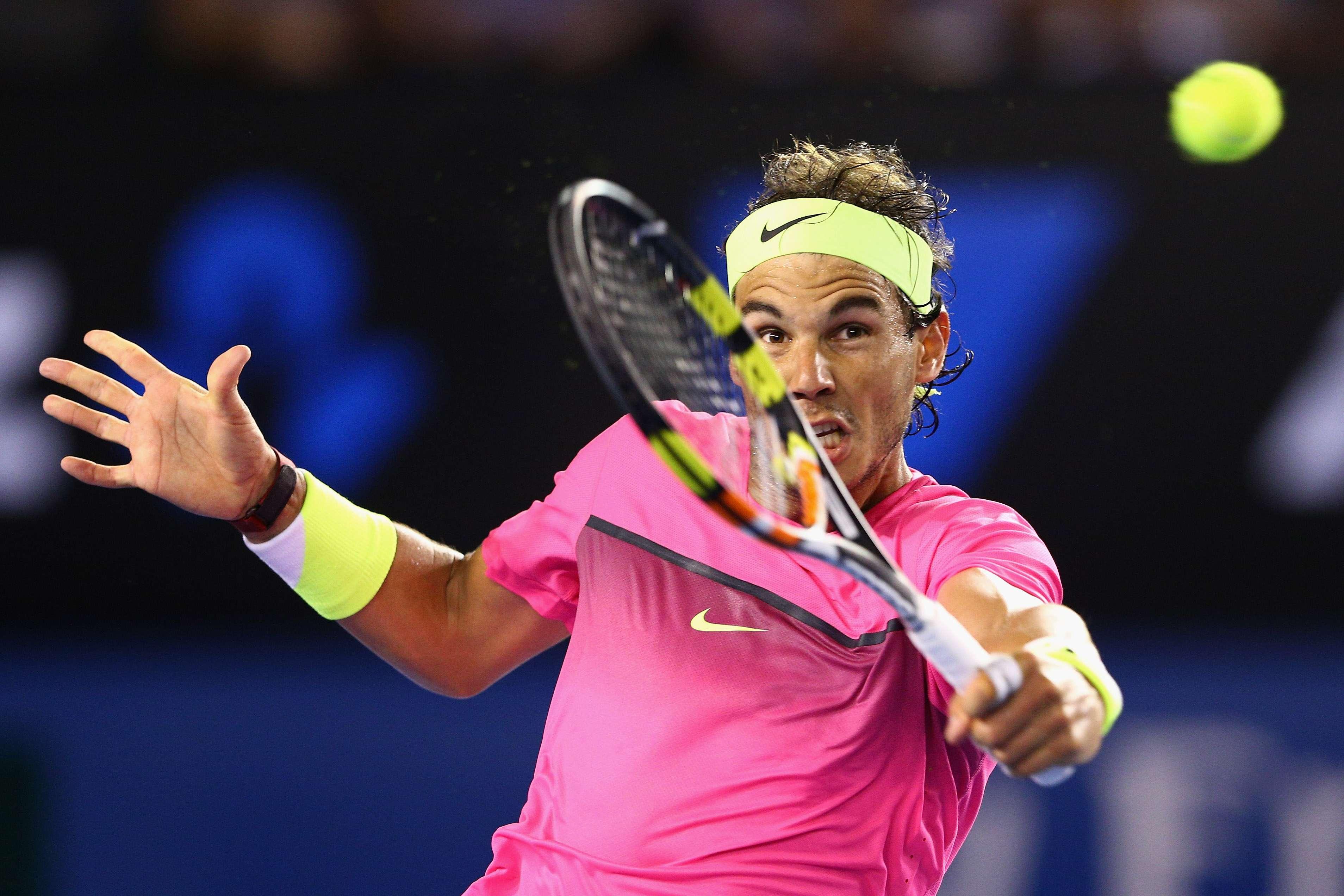 Rafa Nadal evidenció una gran mejoría en su juego. Foto: Getty Images