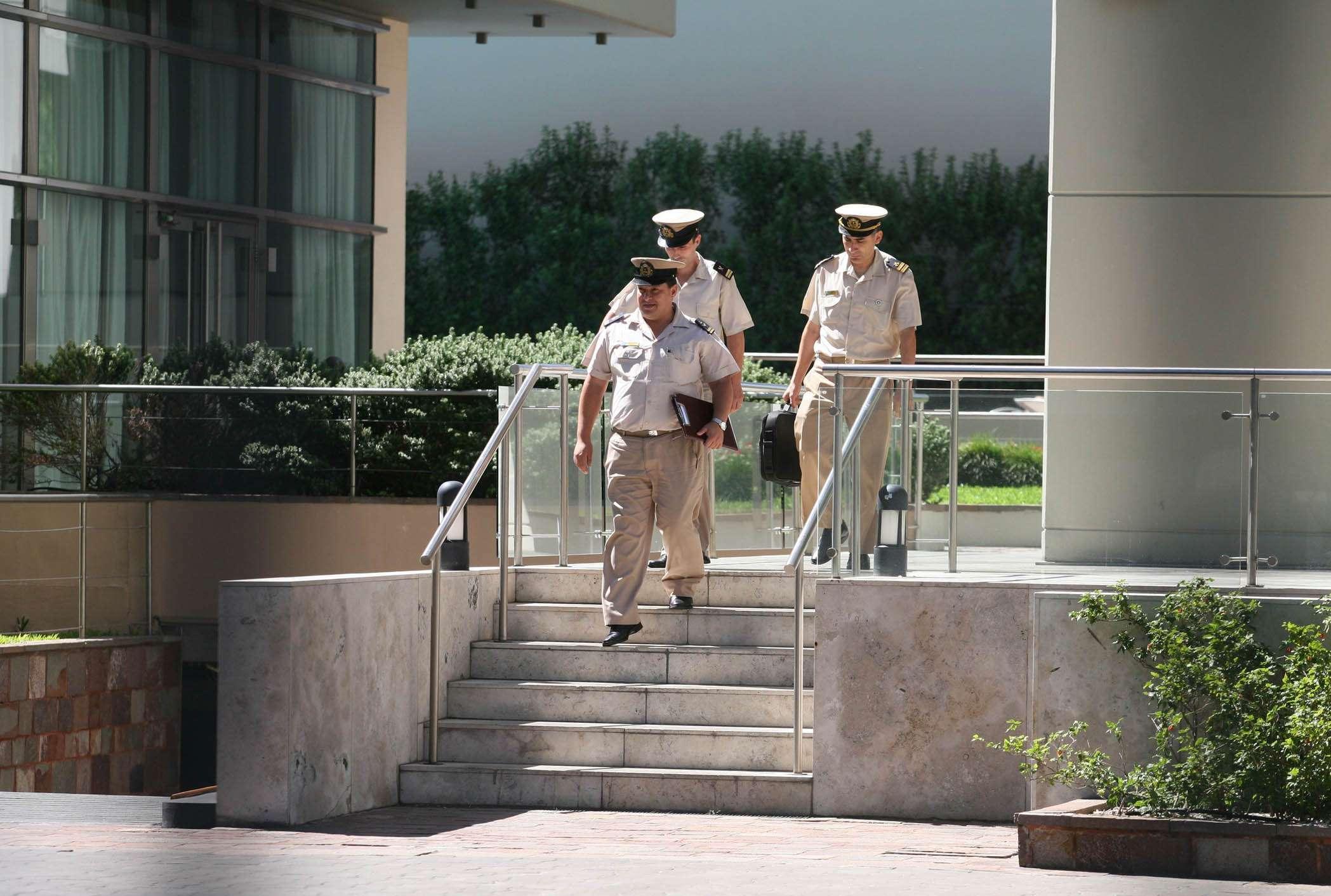 La fiscal Viviana Fein realizó un allanamiento en la Torre Le Parc de Puerto Madero en el marco de la investigación por la muerte del fiscal Alberto Nisman. Foto: Noticias Argentinas