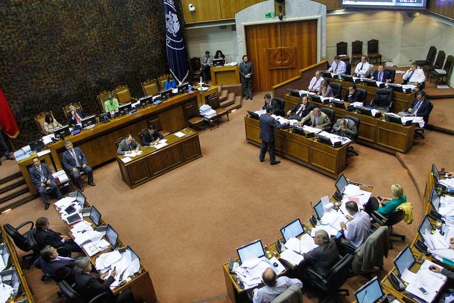 La Cámara de Diputados tuvo una larga jornada. Foto: Agencia UNO