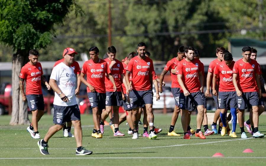 Los jugadores de la Roja quedaron libres hasta el domingo por la noche. Foto: Agencia UNO