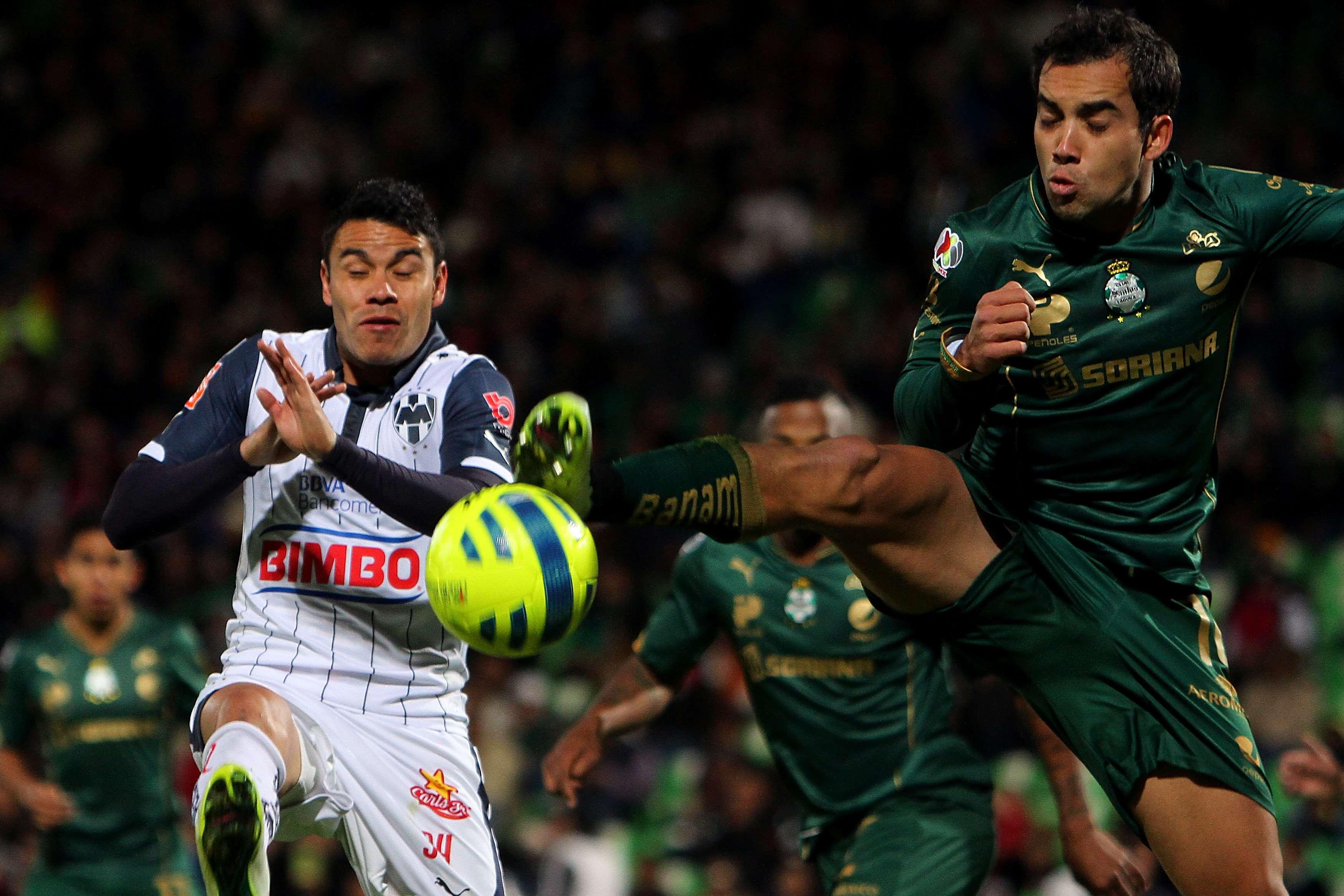 Santos goleó a Rayados. Foto: JamMedia
