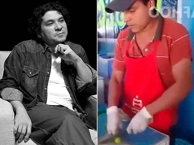 """Gastón Acurio / Julio, el """"ninja de los limones"""". Foto: Difusión / Captura de video"""