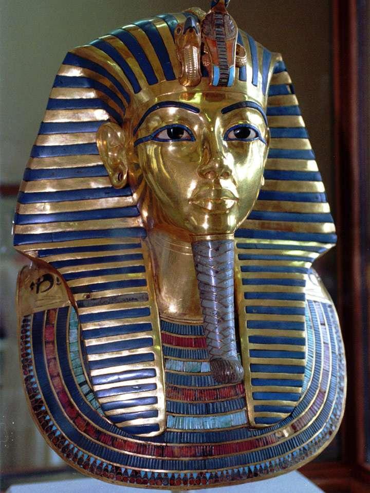 Máscara de Tutankamon Foto: AP