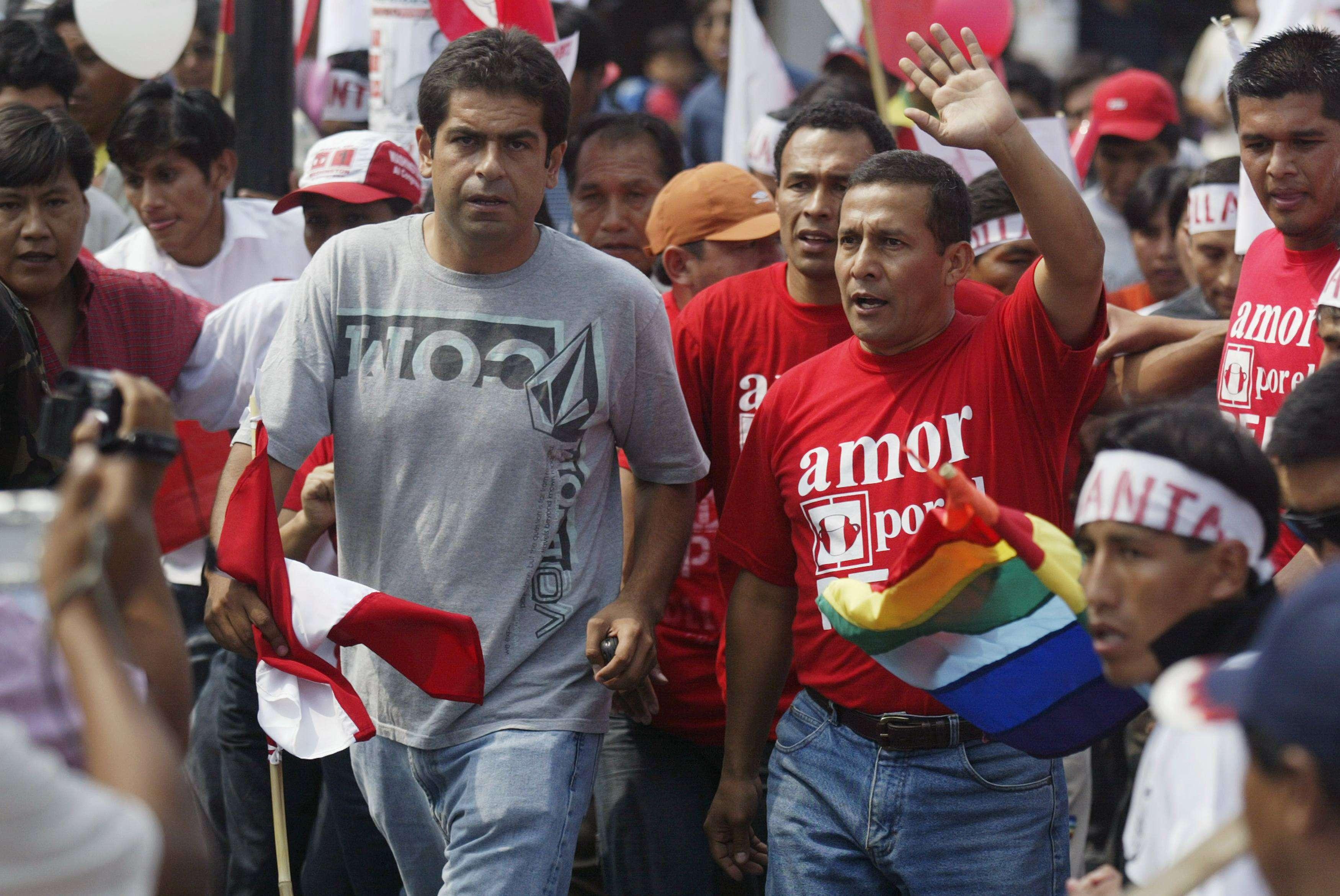 Martín Belaunde Lossio fue jefe de prensa de Ollanta Humala en la campaña electoral del 2006. Foto: Reuters