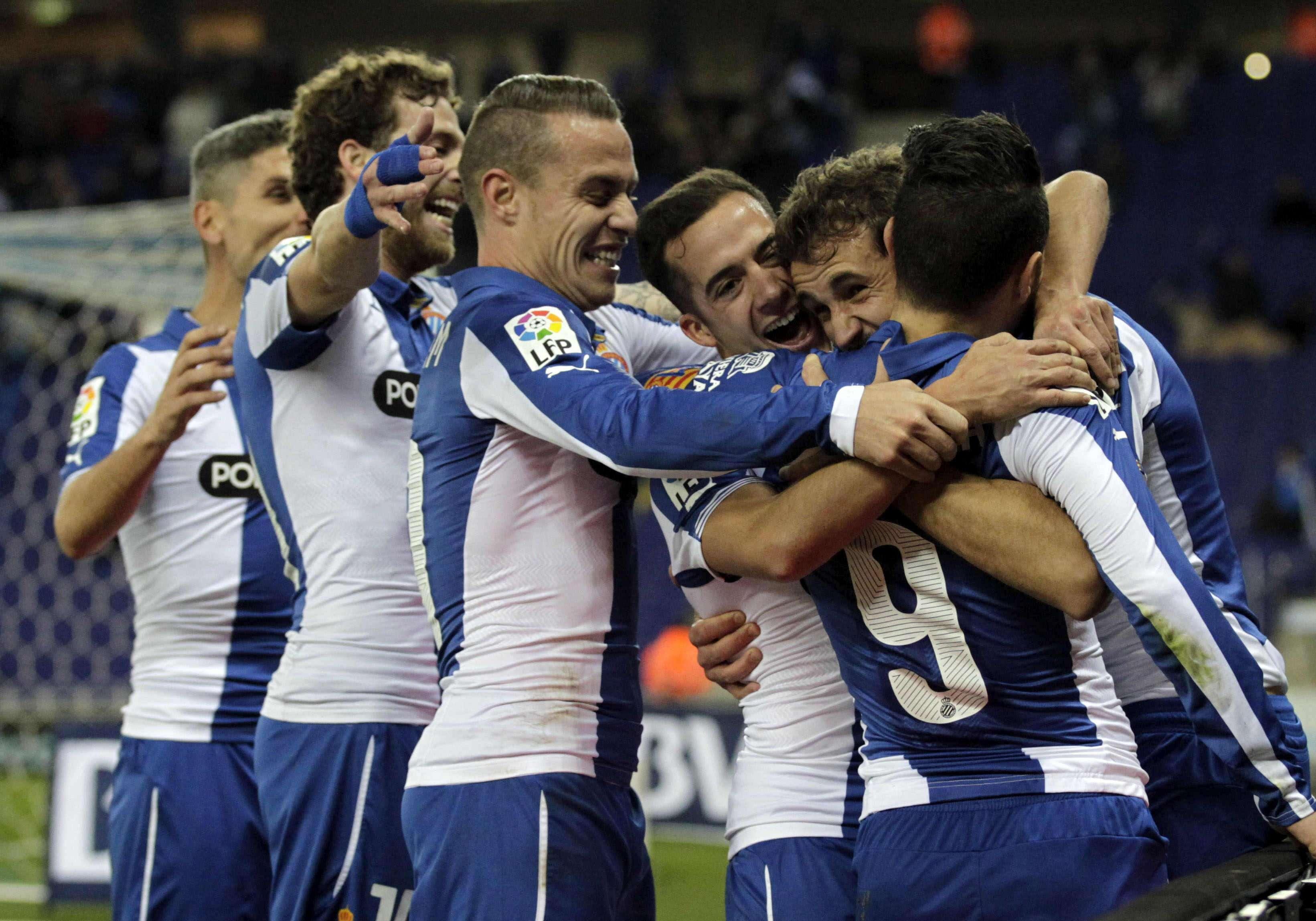 Espanyol - Almería. Foto: EFE en español