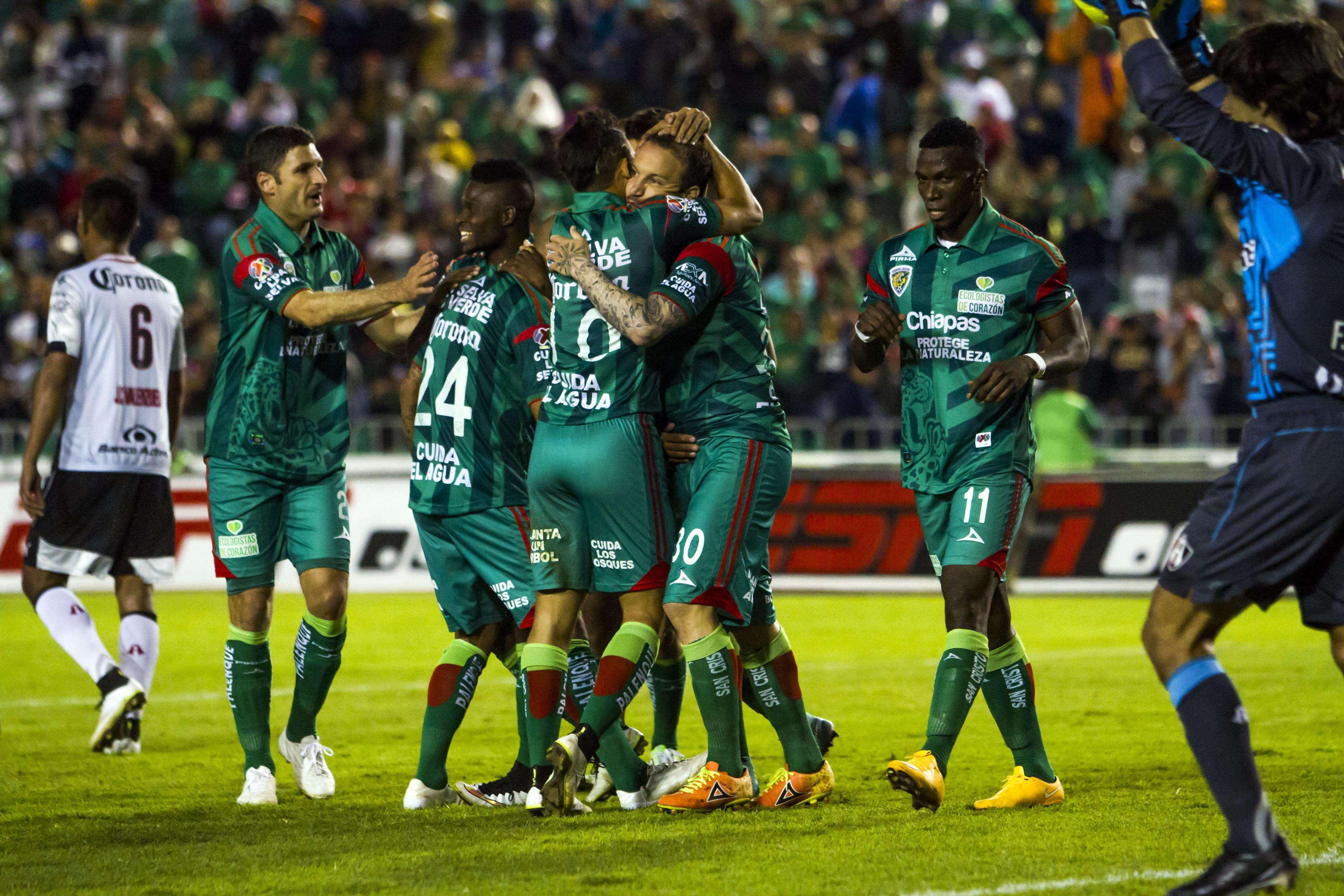 Con doblete de Avilés hurtado y un gol más de Matías Vuoso, Jaguares venció 3-1 al Atlas. Foto: Imago7