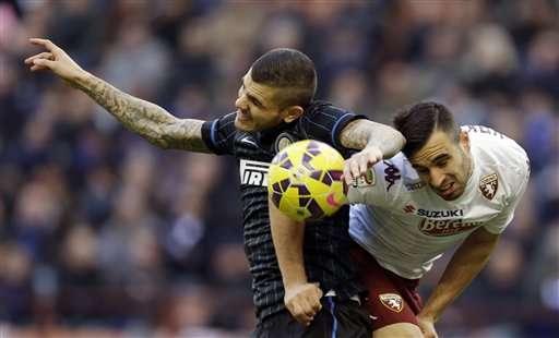 Inter - Torino Foto: AP en español