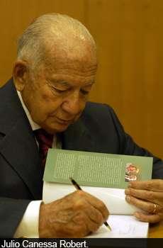 Julio Canessa falleció a los 89 años. Foto: Reproducción