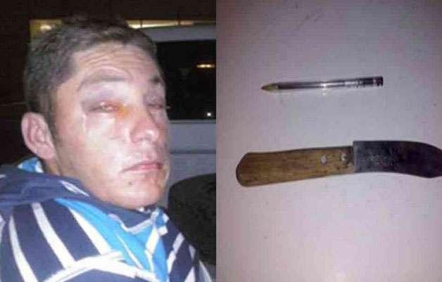 El presunto delincuente fue identificado como Roberto Leonel Rodríguez. Foto: Diario de Juarez