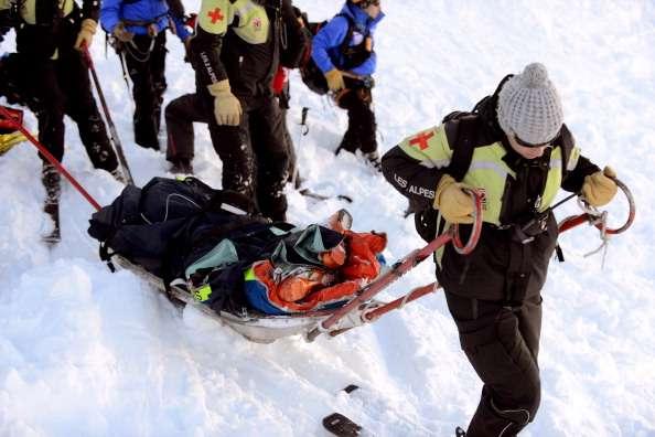 Los cuerpos fueron encontrados luego de más de 12 horas de labores de rescate. Foto: Getty Images