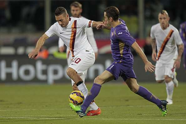 Sexto partido consecutivo de la Roma sin perder ante la Fiore. Foto: Getty Images