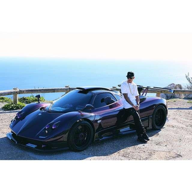 """Hamilton chamou carro de """"bebê"""" Foto: Instagram/ lewishamilton/Reprodução"""