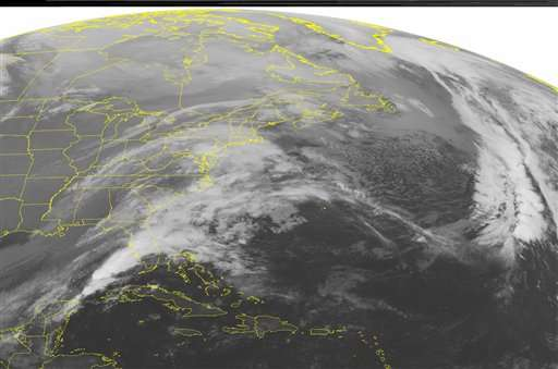 #icezilla es el hashtag creado para identificar a la gran tormenta; se espera que el clima mejore hasta la mañana del miércoles. Foto: AP en español