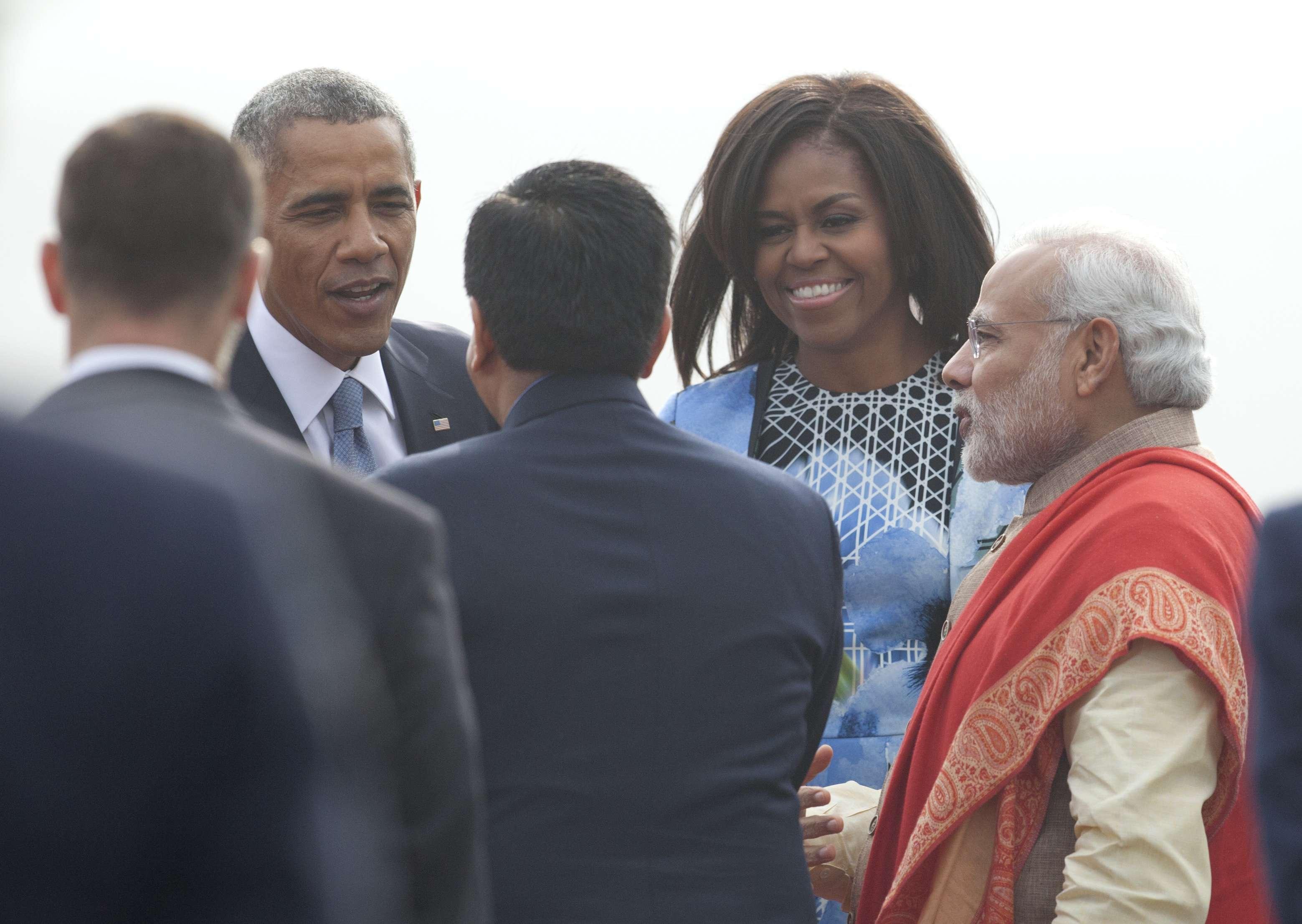 Barack Obama es el primer presidente estadounidense en visitar dos veces la India durante su mandato. Foto: AP en español