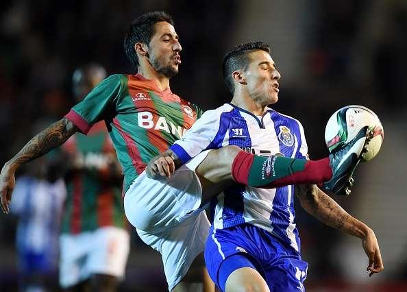 Porto quedó seis puntos debajo del Benfica, que este lunes visita al Paços de Ferreira. Foto: Getty Images